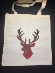 Stag - Dark Red Colour Way