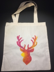 Stag - Pink and Yellow Colour way